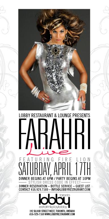 Farahri Lobby Event