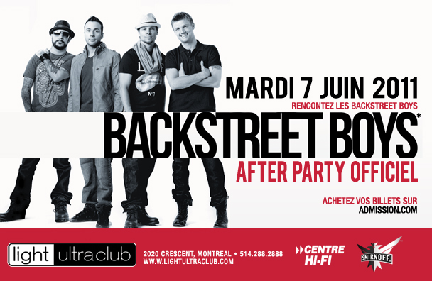 backstreet boys 2011. 2011, The Backstreet Boys